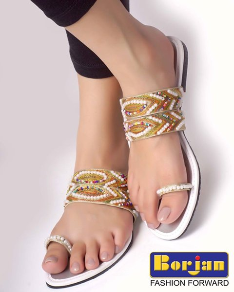 Borjan Shoes Eid Footwear Collection 2014 For Women 0014