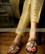 Farah & Fatima Eid Footwear Collection 2014 For Women 007