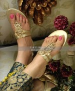 Farah & Fatima Eid Footwear Collection 2014 For Women