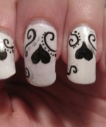 Heart Nail Art Designs 2014 For Women 0011