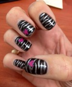 Heart Nail Art Designs 2014 For Women 003