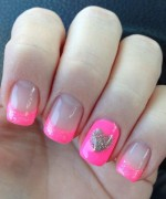 Heart Nail Art Designs 2014 For Women 005