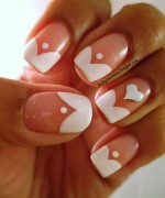 Heart Nail Art Designs 2014 For Women 007