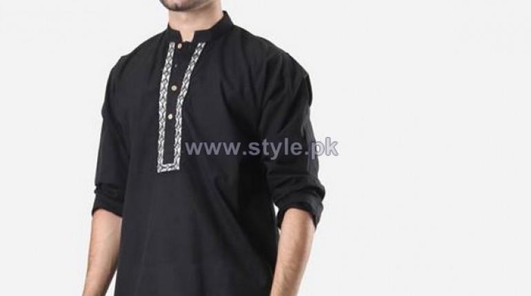 Khaadi Man Kurta Designs 2014 For Eid