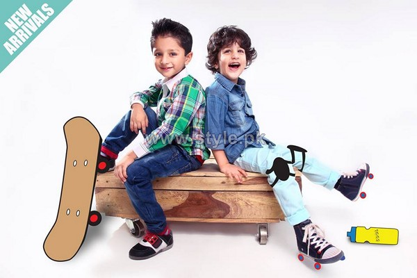 Kids Breakout Eid Dresses 2014 For Kids 6