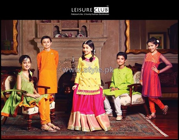 Leisure Club Kids Dresses 2014 For Eid 6