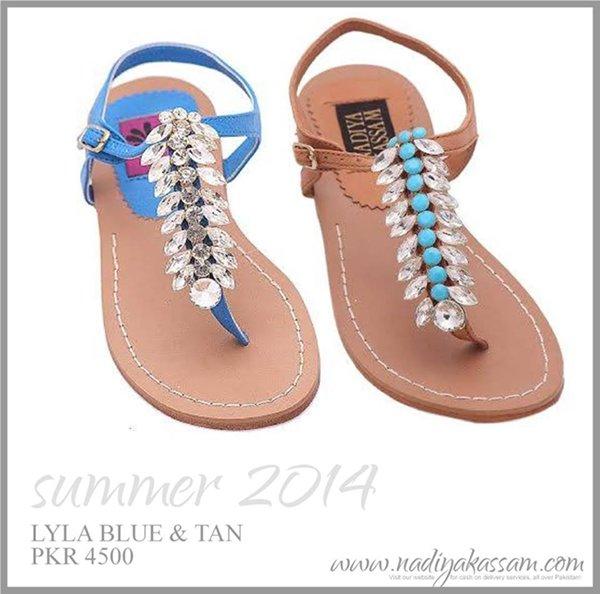 Nadiya Kassam Eid Footwear Collection 2014 For Women 0012