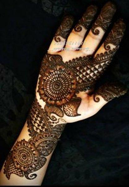 New Eid Mehndi Designs 2014 For Hands 0011  New Eid Mehndi ...
