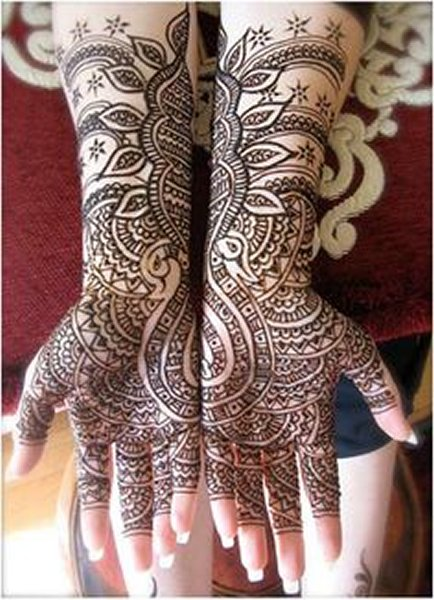 New Eid Mehndi Designs 2014 For Hands 005