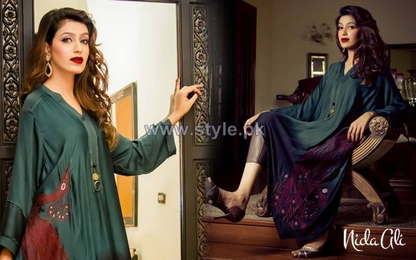 Nida Ali Rangrez Collection 2014 For Eid 3