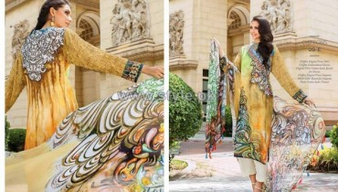 Resham Ghar Chiffon Dresses 2014 For Women 12