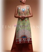 Tena Durrani Eid Dresses 2014 For Girls 3