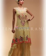 Tena Durrani Eid Dresses 2014 For Girls 5