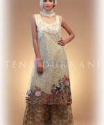 Tena Durrani Eid Dresses 2014 For Girls 6