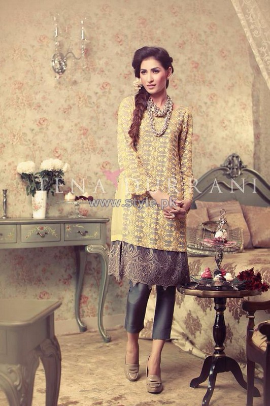 Tena Durrani Eid Dresses 2014 For Women 9