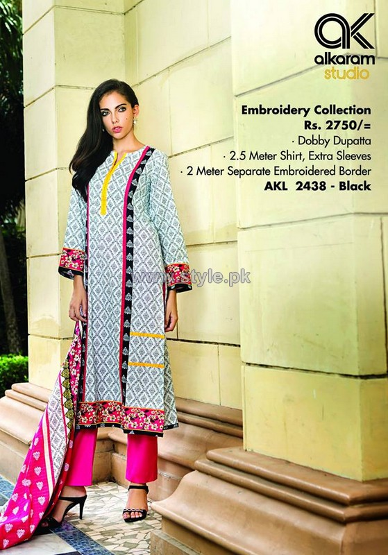 Al-Karam Textile Mid Summer Dresses 2014 For Women 12