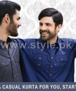 Amir Adnan Men Kurtas 2014 For Eid-Ul-Adha 2