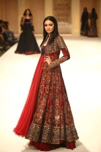 Stylish Dresses For Weddings 39 Fresh Bridal Anarkali Frocks For
