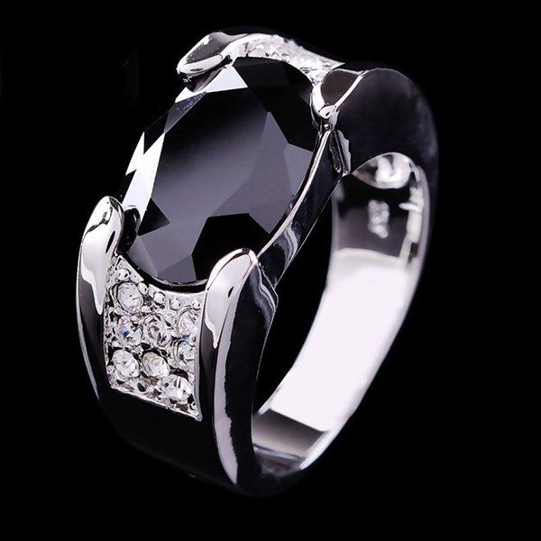 Designs Of Black Sapphire Rings 2014 For Men