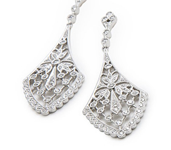 Luxury Timeless Gold And Diamond Earrings For Women Fascinating Diamonds