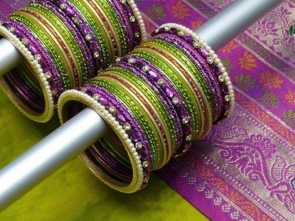 Designs Of Glass Bangles 2014 For Women 005