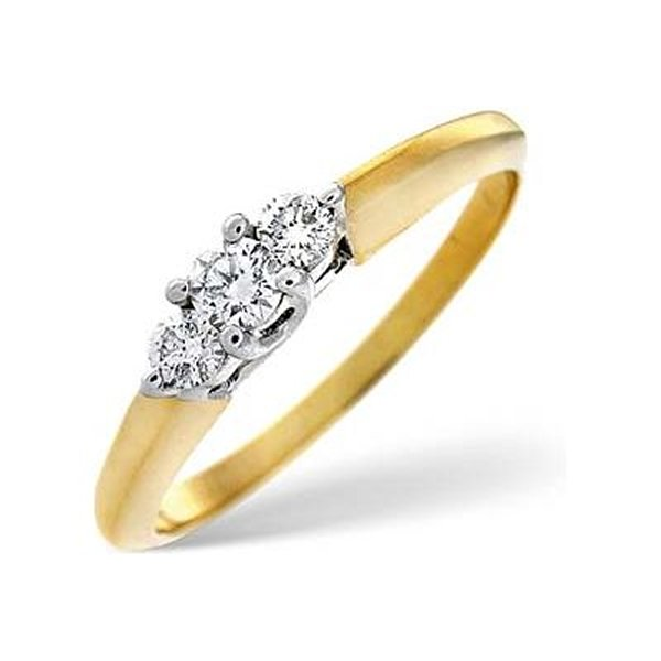 Designs Gold Engagement Rings 2014 For Women 008