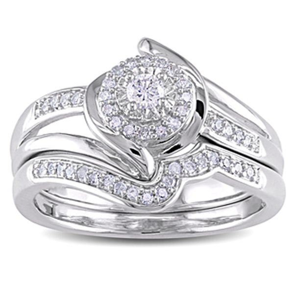 Wedding Rings With Engagement Ring Set
