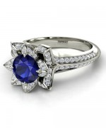 Designs Of Wedding Sapphire Rings For Women 006