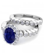 Designs Of Wedding Sapphire Rings For Women 007