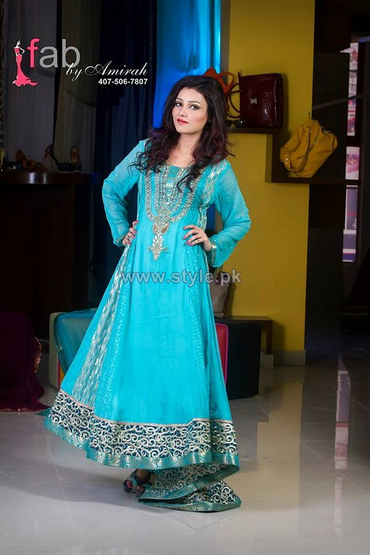 Fab by Amirah Formal Wear Dresses 2014 For Summer 1