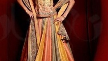 Fashion Of Multi Color Party Dresses 2014 For Pakistani Women 0010