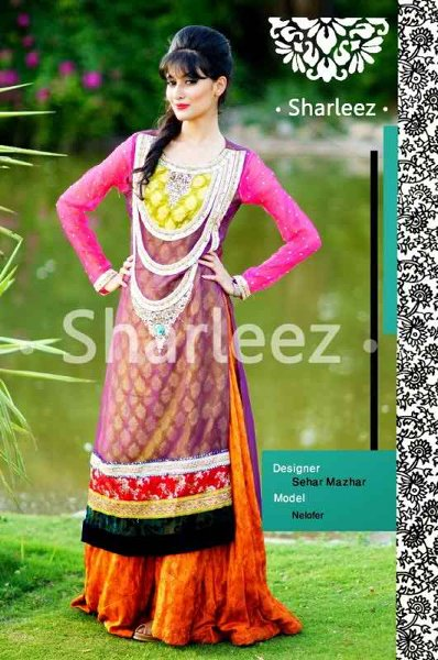 Pakistani Party Dresses for Women of 2014