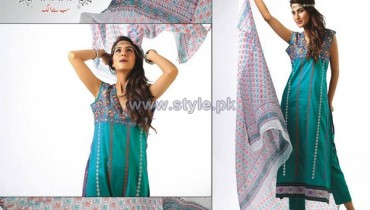 Ghani Kaka Textile Mid Summer Dresses 2014 For Women 11