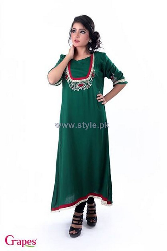 Grapes The Brand Casual Kurtas 2014 For Women 7