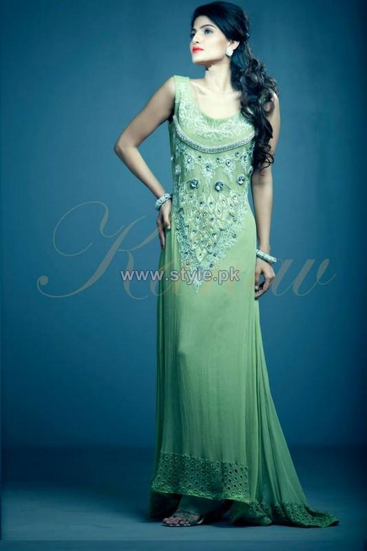 Kanav Party Dresses 2014 For Women