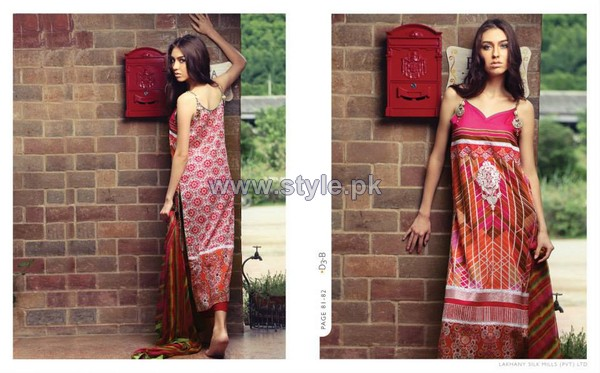 LSM Komal Summer Dresses 2014 For Women 1