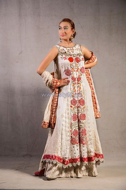 Pink Chiffon Formal Dresses 2014 For Women 7