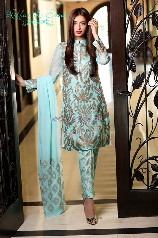 Sana Salman Eid-Ul-Azha Dresses 2014 For Girls 4
