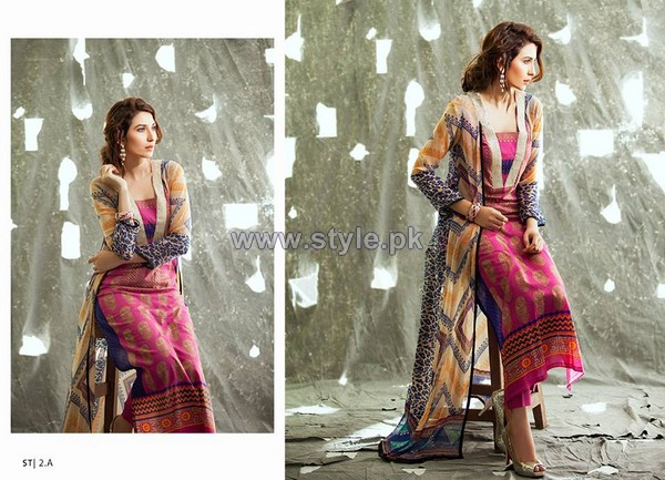 Shariq Textiles Libas Crinkle Lawn Dresses 2014 5