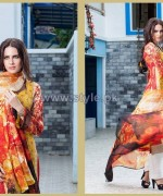 Shariq Textiles Libas Embroidered Dresses 2014 2