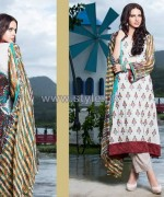 Shariq Textiles Libas Embroidered Dresses 2014 6