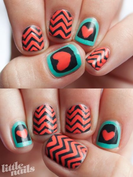 Summer Nail Art Designs For Short Nails 001