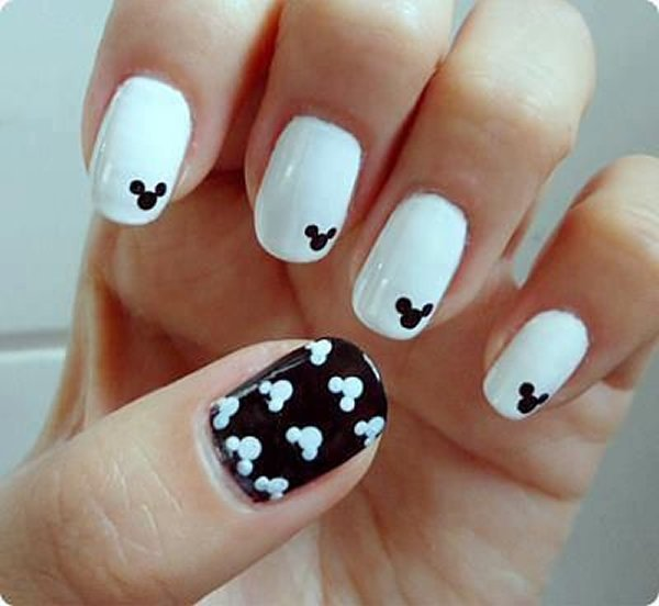 summer nail art designs for short nails 0012