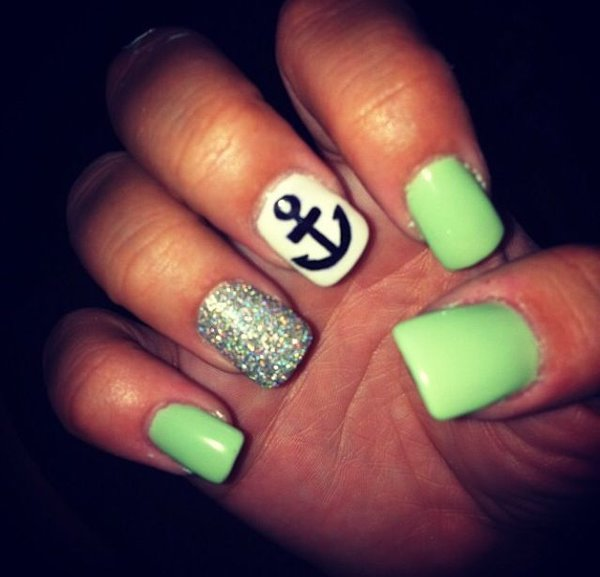 summer nail art designs for short nails 0014