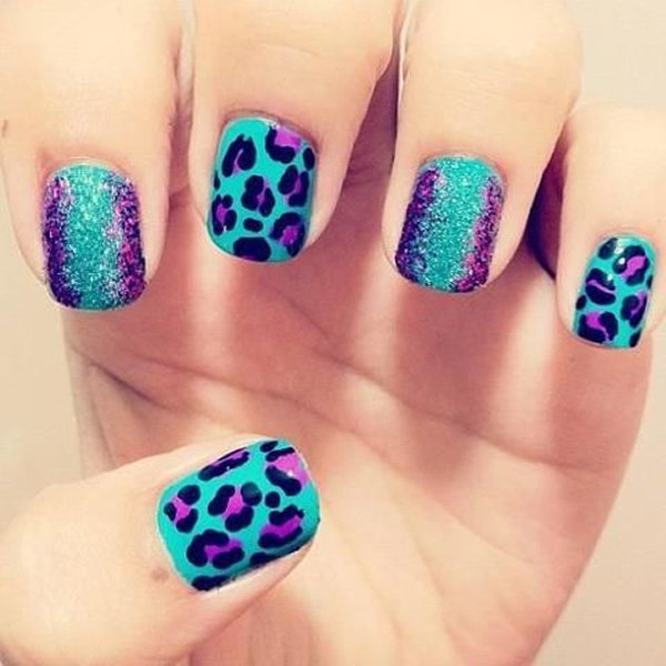 - Summer Nail Art Designs For Short Nails 006
