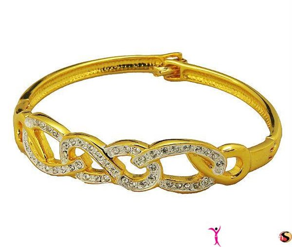 Trends Of Gold Bracelets 2014 For Women 009