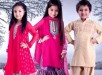 Trends Of Mehndi Dresses 2014 For Kids 009
