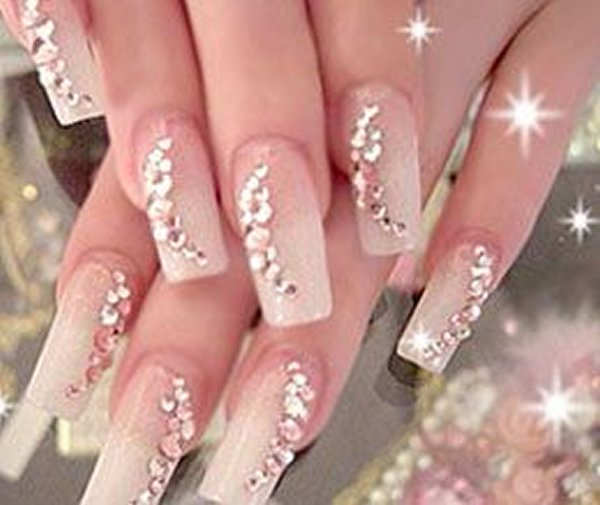 Trends of wedding nail art designs 2014 for women 001 prinsesfo Choice Image