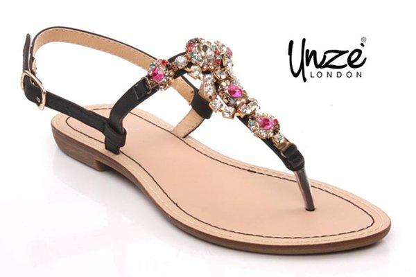 Unze Footwear Designs 2014 For Women 002