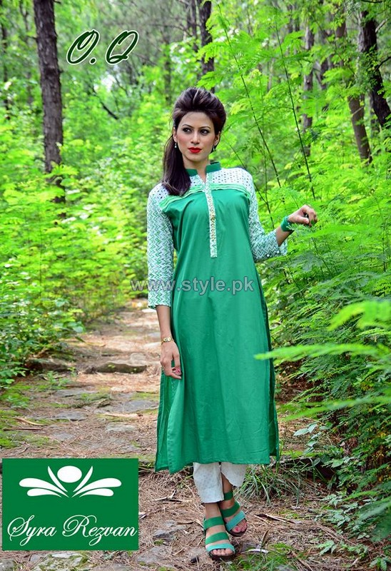 Vibgyor by Syra Azaadi Collection 2014 For Girls 3